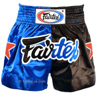 Fairtex Classic Muay Thai Shorts Blue/Black