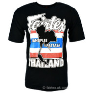Fairtex Thai Flag T Shirt Black