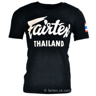 Fairtex Thailand T Shirt Black