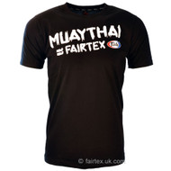 Fairtex Muay Thai T Shirt Black