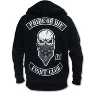 Pride or Die Fight Club Zip Hoodie