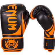 Venum Neon Challenger 2.0 Boxing Gloves Black/Orange
