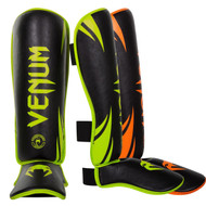 Venum Neon Challenger Shin Guards