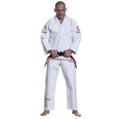 Grips Athletics Arte Suave BJJ Gi White