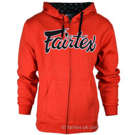 Fairtex Hoodie Red/Black
