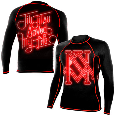 Newaza Saved My Life Rashguard