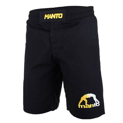 Manto Logo Ripstop 4.0 Fight Shorts
