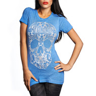 Affliction Ladies Kelsey Skull Short Sleeve T-Shirt