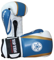 Top Ten Star Boxing Gloves Blue/Gold