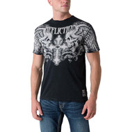 Affliction Winged Up Short Sleeve T-Shirt Black