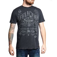 Affliction AC Exhaust Short Sleeve T-Shirt