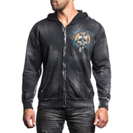 Affliction Head Hunter Zip Hoody