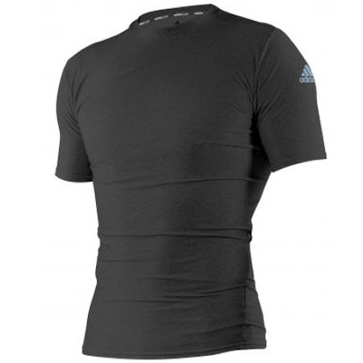 Adidas Compression Top Short Sleeve Black