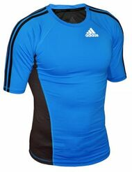 Adidas Transition Rashguard Short Sleeve