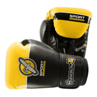 Hayabusa Sport Boxing Gloves Black/Yellow 10oz