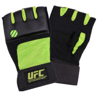 UFC Gel Hand Wraps Black/Green