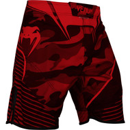 Venum Camo Hero Fightshorts Red