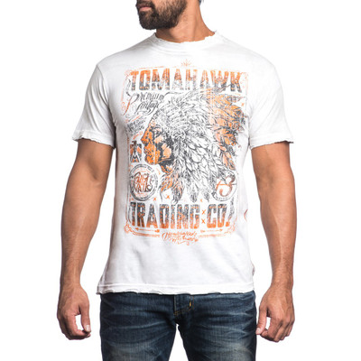 Affliction Tomahawk Trading T-Shirt