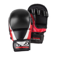 Bad Boy Training Series 2.0 MMA Safety Gloves Black/Red