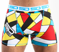 Smuggling Duds Abstract Boxer Shorts