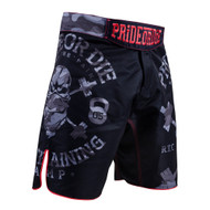 Pride Or Die Raw Training Camp Urban Fight Shorts