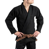 Scramble Standard Issue Customisable BJJ Gi Black