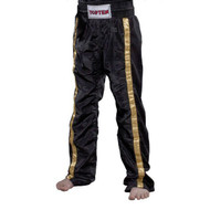 Top Ten Mesh Kickboxing Pants Black/Gold