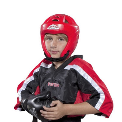 Top Ten Mesh Kickboxing Jacket Black/Red
