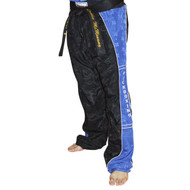 Top Ten Kickboxing Uniform Pants - Black/Blue