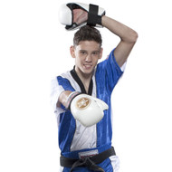 Top Ten Kickboxing Jacket Blue/White