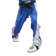 Top Ten Kickboxing Uniform Pants - Blue/White