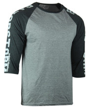 Razorstorm Athlete Raglan T-Shirt Grey/Grey