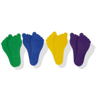 Bytomic Foot Shaped Agility Marker - 10 Pack