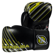 Hayabusa Ikusa Charged Boxing Gloves 14oz Black/Green