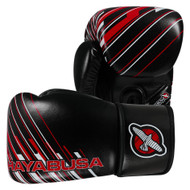 Hayabusa Ikusa Charged Boxing Gloves 10oz Black/Red