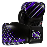 Hayabusa Ikusa Charged Boxing Gloves 10oz Black/Purple