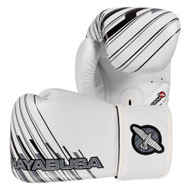 Hayabusa Ikusa Charged Boxing Gloves 16oz White/Grey