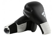 Adidas Hybrid 100 Boxing Gloves Black/White