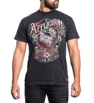 Affliction Snake River Outlaw T-Shirt