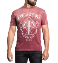 Affliction Death Spade T-Shirt