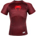 Venum Nightcrawler Short Sleeve Rash Guard Red