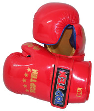 Top Ten ITF Gloss Pointfighter Gloves Red