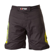 Top Ten Triangle MMA Shorts Black/Yellow