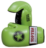 Top Ten Star Pointfighter Glove Neon Green