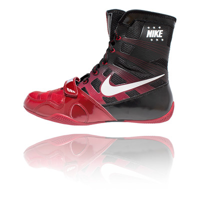 1d329b8ced30 ... coupon code nike hyper ko boxing boots red white black made4fighters  a3d3d f8763