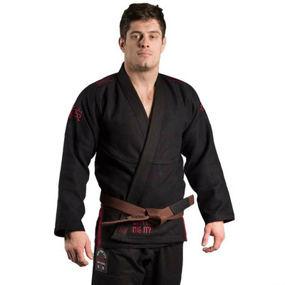 Scramble X The Warriors BJJ Gi Black