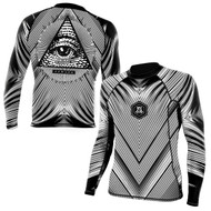 Newaza All Submitting Eye Rashguard