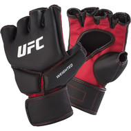 UFC Competition Weighted MMA Gloves Black/Red