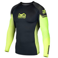 Phantom Athletics Storm Nitro Long Sleeve Rashguard Black/Neon
