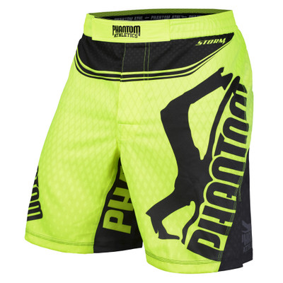 Phantom Athletics Storm Nitro Fightshorts Neon/Black